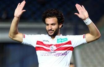 محمود علاء يتعادل للزمالك ويسجل ضربة جزاء في مرمى حرس الحدود