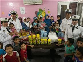 """""""الداخلية"""" توفد ضباطا لزيارة دور الأيتام وذوى الإعاقة بمناسبة شهر رمضان   صور"""