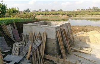 الري تعلن تنفيذ عدد من المشروعات المائية بنطاق محافظة الدقهلية | صور