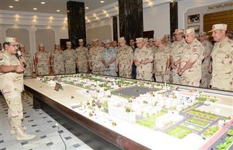 صدقي صبحي: القوات المسلحة تزداد قدرة وجاهزية على تأمين وحماية الدولة يوما بعد يوم