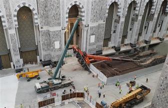 سقوط رافعة في المسجد الحرام بمكة المكرمة
