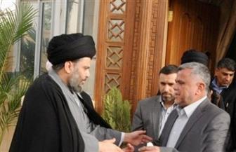 الصدر يلتقي بالعامري لبحث العملية السياسية بالعراق بعد الانتخابات