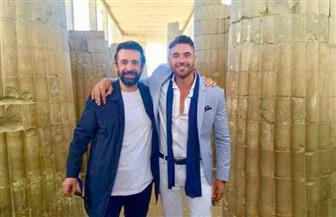 كريم عبدالعزيز يعد جمهوره بمفاجأة قريبة مع أحمد عز