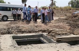 محافظ قنا يتفقد محطة مياه الشرب بمركز فرشوط | صور