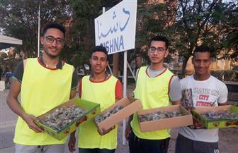 شباب دشنا يواصلون مبادرة إفطار الصائمين المسافرين للعام السابع علي التوالي | فيديو وصور