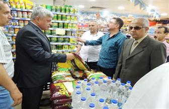 مدير أمن المنوفية يتفقد عددا من منافذ بيع السلع الغذائية والخدمات الأمنية   صور