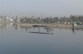 """الري: عدم تلوث المياه في سوهاج إثر شحوط صندل بمجرى النيل يحمل 400 طن """"طفلة"""""""