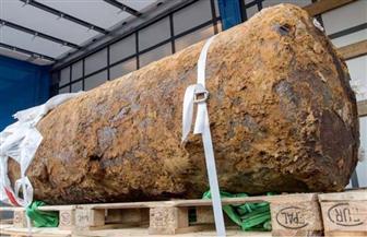 العثور على قنبلة من الحرب العالمية تزن نصف طن في منطقة بناء بألمانيا