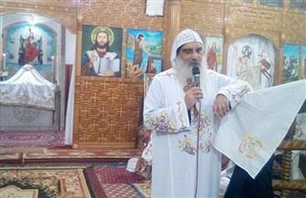 كنيسة الأنبا باخوم بالأقصر تحتفل بعيد نياحة شفيع الكنيسة