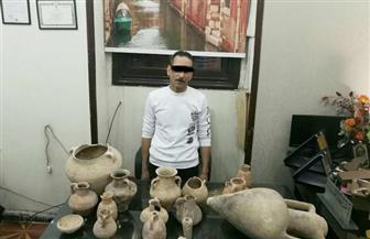 القبض على حداد أثناء تنقيبه عن الآثار أسفل منزله غرب الإسكندرية  صور