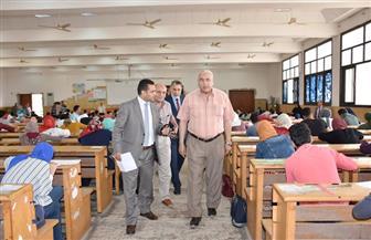 رئيس جامعة السادات يتفقد لجان امتحانات نهاية العام الدراسى بكليات الجامعة  صور