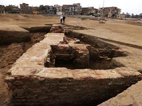 كشف أثرى جديد يعود للعصر اليونانى الرومانى بمحافظة الغربية  صور