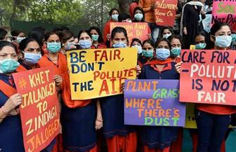 مقتل 11 في احتجاجات على التلوث بالهند