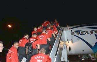 المنتخب الوطني يغادر إلى الكويت |صور