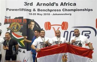 ثلاثي الفراعنة يخطفون برونزية بطولة أرنولد الدولية لكمال الأجسام