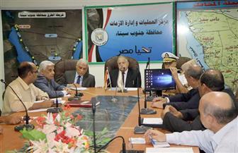 فودة يناقش الموقف النهائي للوحدات السكنية بمدن جنوب سيناء