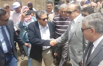 وزيرا التنمية المحلية والبيئة يتفقدان أعمال التطوير بمقلب أبو خريطة بالمنوفية  صور