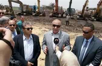وزيرا التنمية المحلية والبيئة يدشنان إنشاء مصنع لتدوير القمامة بشبين الكوم  صور