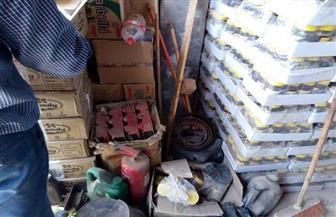 ضبط 254 عبوة مواد غذائية غير صالحة للاستهلاك الآدمي بمطروح
