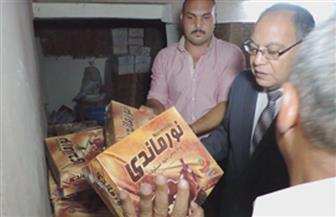 ضبط 3 مصانع حلوى غير مرخصة وتحرير 49 قضية تموينية بكفر الشيخ