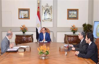 الرئيس السيسي يعقد اجتماعا مع رئيس الوزراء ووزير الكهرباء