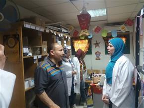 إحالة 146 من العاملين بالصحة والتضامن فى كفرالزيات إلى التحقيق | صور