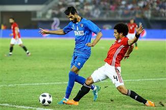 التعادل الإيجابي يفرض نفسه على مباراة الكويت ومصر الودية
