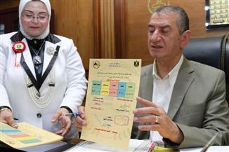 محافظ كفرالشيخ يعتمد نتيجة الشهادة الإعدادية بنسبة نجاح 90.04% | صور
