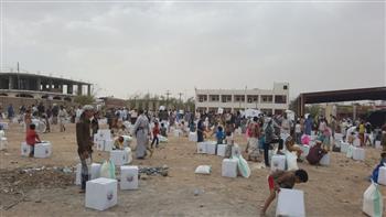رابطة العالم الإسلامي: الحملة الثانية تشمل إغاثة 75 ألف نازح باليمن