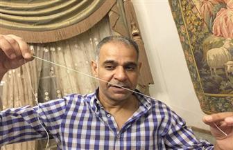 """محمود البزاوى يداعب جمهور كلبش: """"أخيرا وصلت للخيط"""""""