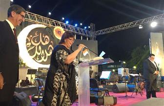 وزيرة الثقافة تكرم الضباط والمثقفين الذين شاركوا في حرب أكتوبر بالأوبرا | صور