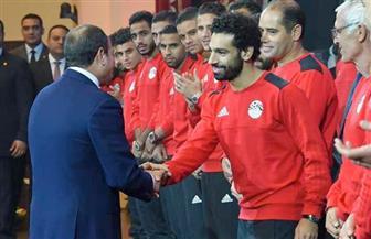 الرئيس السيسي: أتمنى أن يعود صلاح للملعب قريبا.. ويظل نجما مصريا متألقا