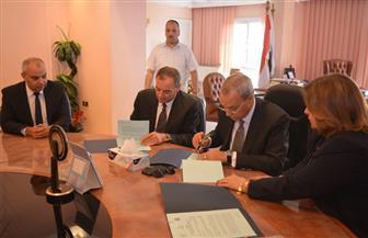 توقيع اتفاقية استكمال مشروع الصرف الصحي بمركزي قفط ونقادة بقنا | صور