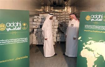 15 ألف ذبيحة من لحوم الهدي والأضاحي بالسعودية تصل غزة  صور