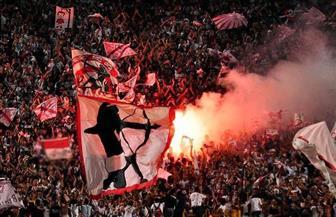 """أعضاء رابطة """"الوايت نايتس"""" الزملكاوية يحرقون العلم الخاص بهم بعد حلها رسميا  فيديو"""