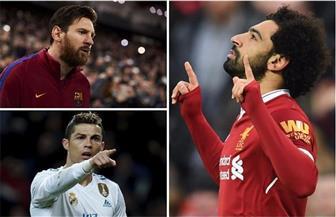 صلاح وميسي ورونالدو وودز وجيمس وسيرينا.. 6 نجوم في ملاعب الرياضة