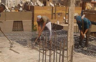 حي العمرانية يضبط 3 خلاطات مخالفة بالهرم | صور