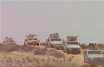 ننشر صور القضاء على 8 إرهابيين بسيناء واكتشاف مخزن أسلحة بالمنطقة الغربية وتوزيع حصص غذائية