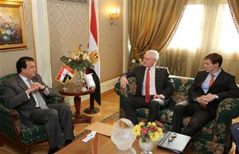 وزير التعليم العالي: قانون الجامعات الأجنبية في مصر يوفر الحرية الأكاديمية | صور