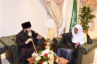 اتفاقية تعاون بين رابطة العالم الإسلامي مع المفتي العام لجمهورية الشيشان | صور