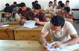 هدوء فى امتحان الفقة والمنطق لطلاب القسم الأدبى بالثانوية الأزهرية