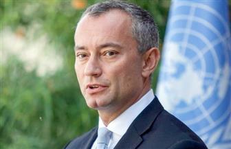ميلادينيوف: يجب أن ندعم جهود المصالحة الفلسطينية بقيادة مصر