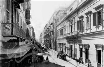 حي النحاسين والخيامية وبيت القاضي في صور نادرة تعود لعام 1886