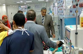 نائب محافظ القاهرة يتفقد مستشفى أبو الريش | صور