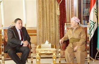 بارزاني للسفير البريطاني بالعراق: ندعم الشراكة الحقيقية الاقتصادية والأمنية والسياسية