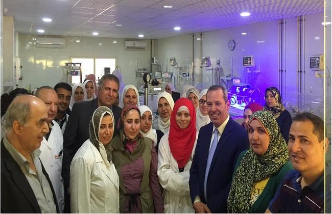 وكيل وزارة الصحة يتفقد مستشفى أجا المركزي   صور -