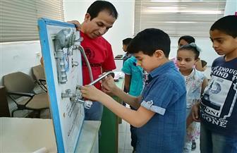 أول ورشة عمل تدريبية لتعليم السباكة للأطفال لترشيد استهلاك المياه بمطروح