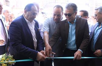 وزير النقل يفتتح محطتي المنشأة وأبو تيج للسكك الحديدية بتكلفة 9 ملايين جنيه | صور