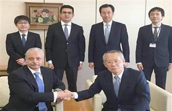 سفير مصر بطوكيو يزور الهيئة اليابانية للإذاعة والتليفزيون | صورة