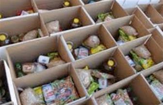 """""""تحيا مصر"""" توزع  523 كرتونة مواد غذائية بأسعار مخفضة فى منفلوط"""